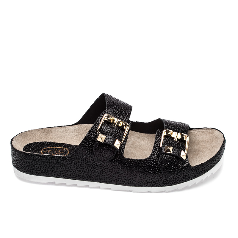 Ash Utopia Bis  Womens Black & Clay Sandal  360146  (009)