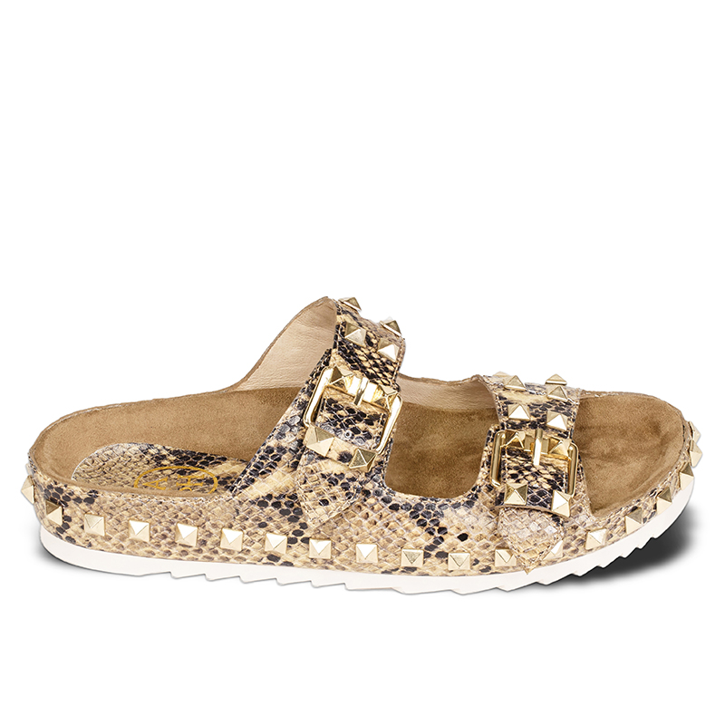 Ash Utopia Womens Desert Wilde Snake Print Leather Sandal  360171  (272)