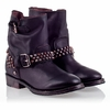 Ash Vicious Womens Stud Boot Black Leather 330350 (001)