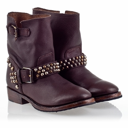 Ash Vicious Womens Stud Boot T-Moro Leather 330350 (205)