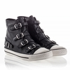 "<font size=""2"" color=""red"">NEW</font><p>Ash Virgin Sneaker Black Nappa Leather 340031 (001)"
