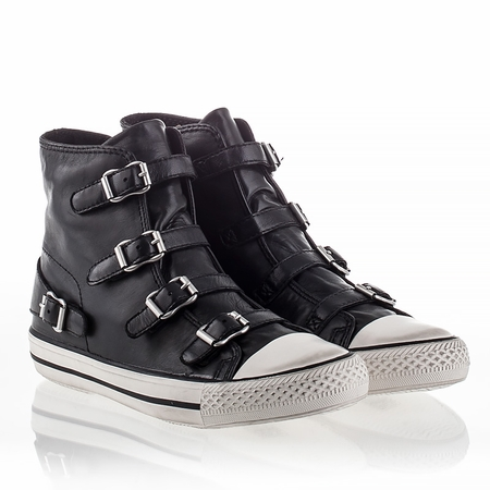 Ash Virgin Sneaker Black Nappa Leather 340031 (001)