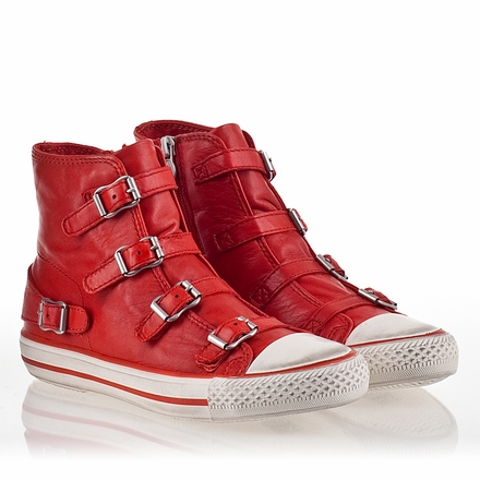Ash Virgin Womens Sneaker Coral Leather 340031 (635)