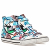 Ash Virgin Sneaker Graffiti Print Leather 350473 (983)