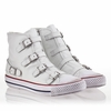 "<font size=""2"" color=""red"">NEW</font><p>Ash Virgin Womens Sneaker White Leather 340031 (100)"