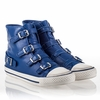 Ash Virgin Womens Sneaker Cobalt Leather 340564 (406)