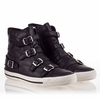 Ash Virginia Womens Sneaker Black Leather 340037 (001)