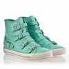 Ash Virginia Womens Sneaker Mint Leather 340037 (336)