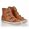 Ash Virginia Sneaker New Nude Leather 340037 (299)