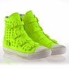 Ash Virus Stud Womens Sneaker Fluo Yellow 340045 (732)
