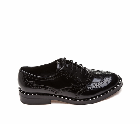 ASH  Wing Womens Oxford Black Leather 360278 (001)