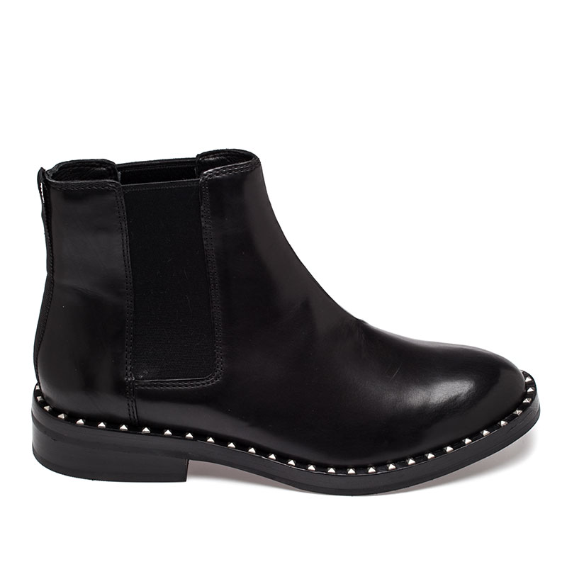 Ash Winona Boot Black Leather 360281 (001)