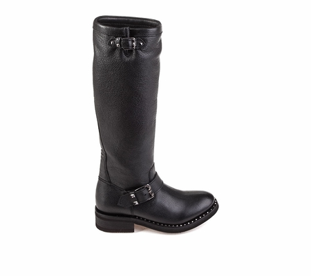 Ash Womens Sugar Boot Black Antique Gun Leather 360373 (967)