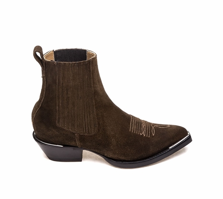 Ash Womens Texas Boot Russet Suede 360337 (229)