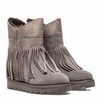 Ash Yago Womens Wedge Boot Stone Suede 350524 (094)