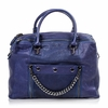 Ash Zowie Womens Satchel Cadet Blue Leather  124090 (471)