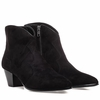 """<font size=""""2"""" color=""""red"""">NEW</font><p>Ash Hurricane Womens Boot Black Suede 350454 (002)"""