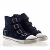 Ash Vincent Mens Sneaker Midnight Suede 330465 (409)