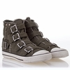 Ash  Vincent  Mens Sneaker Distressed Army Denim 310415