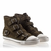 Ash Vincent Mens Sneaker Military Suede 330465 (350)