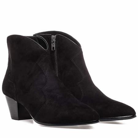"""<font size=""""2"""" color=""""red""""> NEW</font><p>Ash Hurricane Womens Boot Black Suede 350454 (002)"""