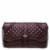 "<font size=""2"" color=""red""> NEW</font><p>Ash Iggy Womens Clutch Hand Bag Dark Wine Nappa Leather  125095 (641)"