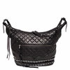 Ash Iggy Womens Hobo Handbag Black Nappa Leather  125097 (001)