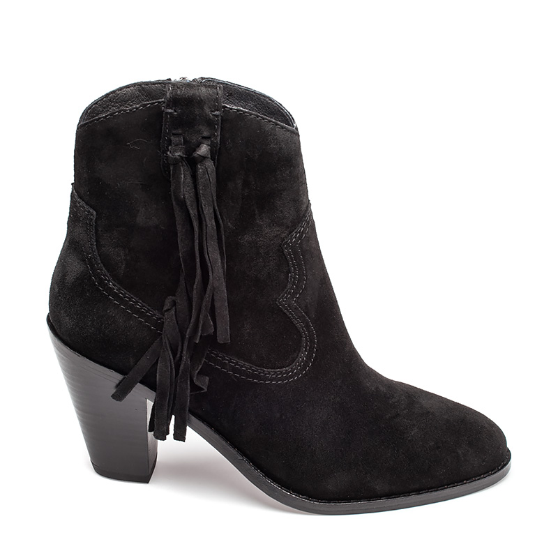 Ash Isha Womens Boot Black Suede 350648 (001)