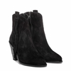 """<font size=""""2"""" color=""""red""""> NEW</font><p>Ash Isha Womens Boot Black Suede 350648 (001)"""