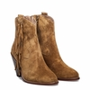 Ash Isha Womens Boot Camel Suede 350648 (266)