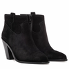 Ash Ivana  Womens Boot Black Suede 350456 (001)