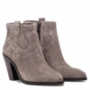 Ash Ivana  Womens Boot Stone Suede 350456 (094)