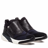 "<font size=""2"" color=""red"">NEW</font><p>Ash Shu Womens  Sneaker  Indigo Mesh and Black  Leather 350568 (403)"