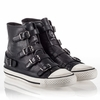 "<font size=""2"" color=""red"">NEW</font><p>Ash Virgin Womens Sneaker Black Leather 340564 (001)"