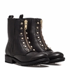 Ash Womens Rachel Boot Black Distressed Leather 350609 (012)