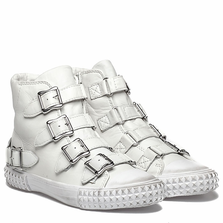 Ash Wonder  Womens Sneaker White Leather  350654 (100)