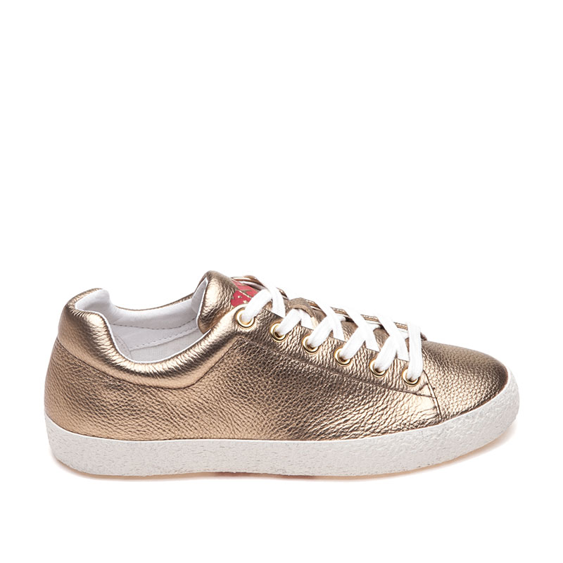 Nicky Bis Gold Sneaker