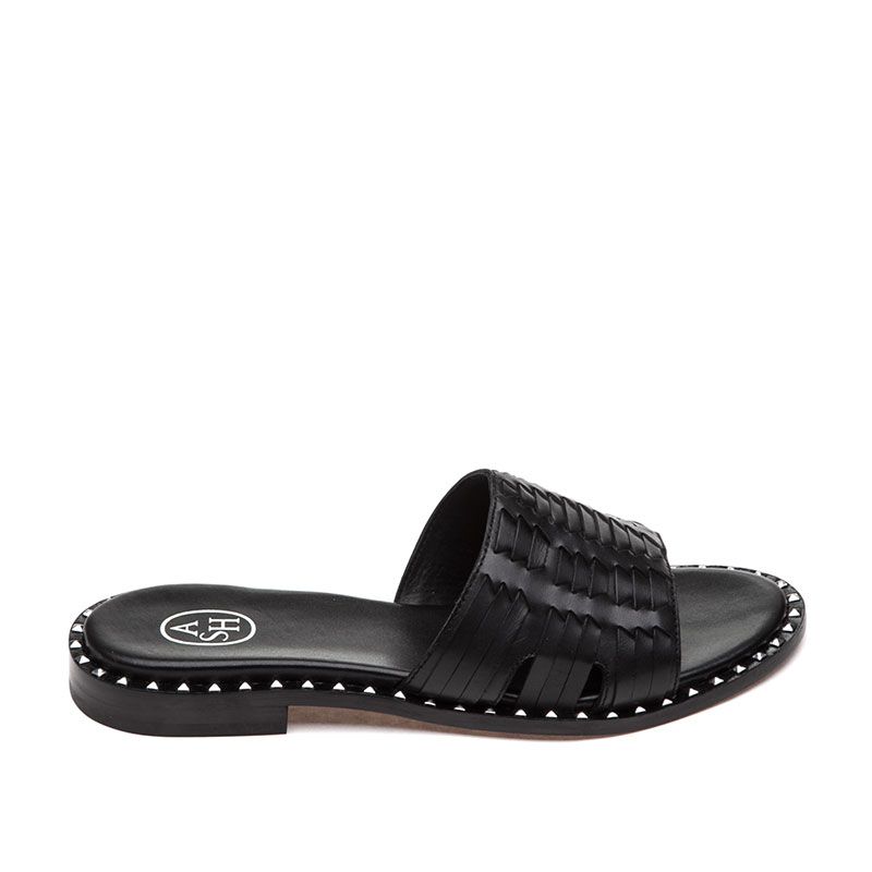 Playa Black Sandal