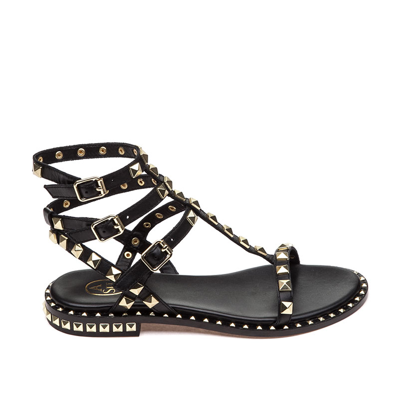 Poison Black Sandal