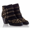 Ash Joyce Womens Boot Black Suede 330356 (001)