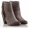Ash Quick  Womens Boot Stone Suede 330411 (094)