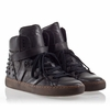 Ash Skunk Womens Stud Sneaker Black Leather 330346  (001)