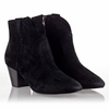 Ash Spiral Womens Boot Black Suede 330386 (001)
