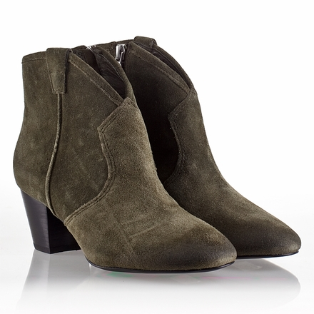 Ash Spiral Womens Boot Military Suede 330386 (350)