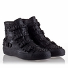 Ash Venom Womens Sneaker Black Snake Print Leather 330296 (964)