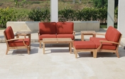 Classic Deep Seating Teak Sofa Set