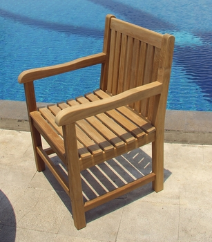Classic Teak Arm Chair
