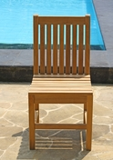 Classic Teak Side Chair