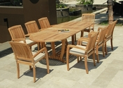 Daytona Teak Table Set 9Pc