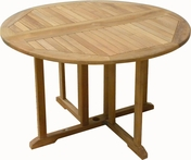 Drop Leaf Teak Table